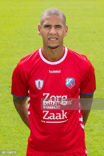 Ramon Leeuwin during the team presentation of FC Utrecht on July 22 2017 at Sportcomplex Zoudenbalch in Utrecht The Netherlands