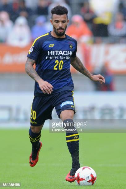 Ramon Lopes of Kashiwa Reysol in action during the JLeague J1 match between Omiya Ardija and Kashiwa Reysol at NACK 5 Stadium Omiya on October 21...