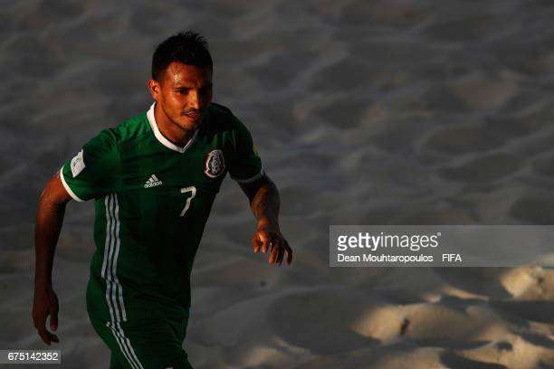 Ramon Maldonado of Mexico looks on during the FIFA Beach Soccer World Cup Bahamas 2017 group B match between Mexico and Nigeria at National Beach...
