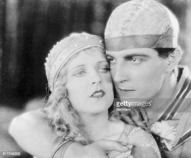 Ramon Novarro as BenHur and May McAvoy as Esther in the 1925 film BenHur