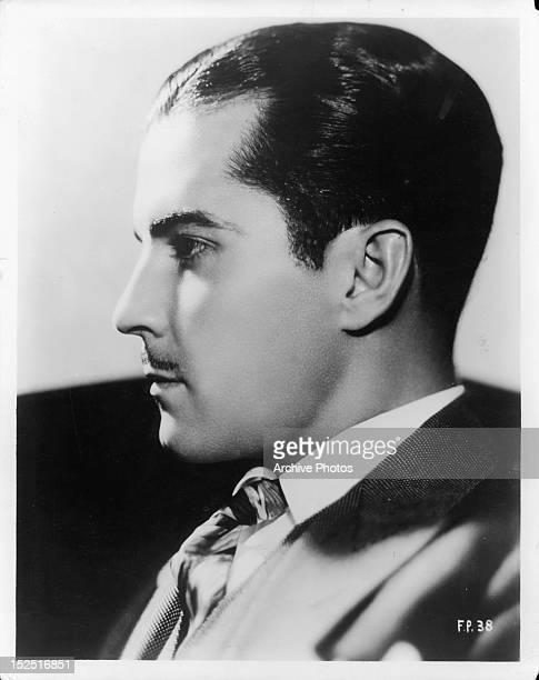 Ramon Novarro publicity portrait for the film 'Forbidden Hours' 1928