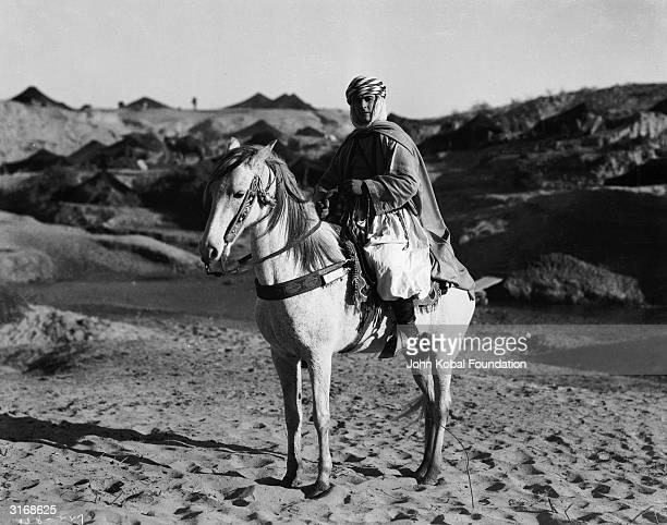 Ramon Novarro stars as Jamil Abdullah Azam in the silent adventure 'The Arab' directed by Rex Ingram