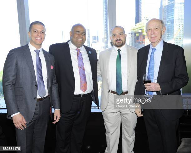 Ramon Pena Carlos Velazquez Ray Sanchez and Ed Rover attend The Boys' Club of New York Annual Awards Dinner at Mandarin Oriental on May 17 2017 in...