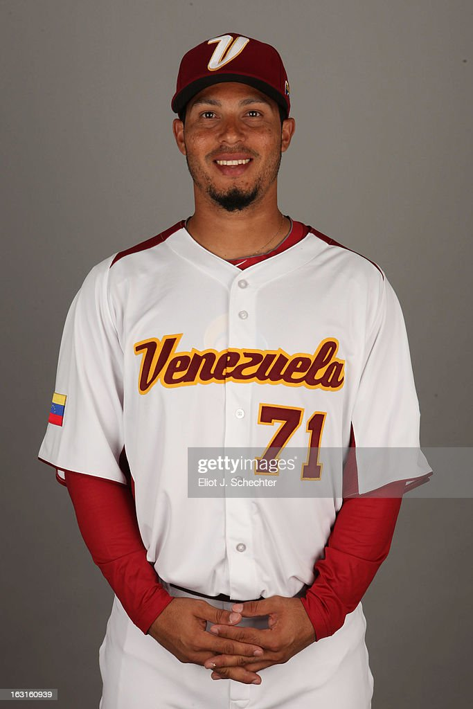 Ramon Ramirez #71 of Team Venezuela poses for a headshot for the 2013 World Baseball Classic at Roger Dean Stadium on Monday, March 4, 2013 in Jupiter, Florida.