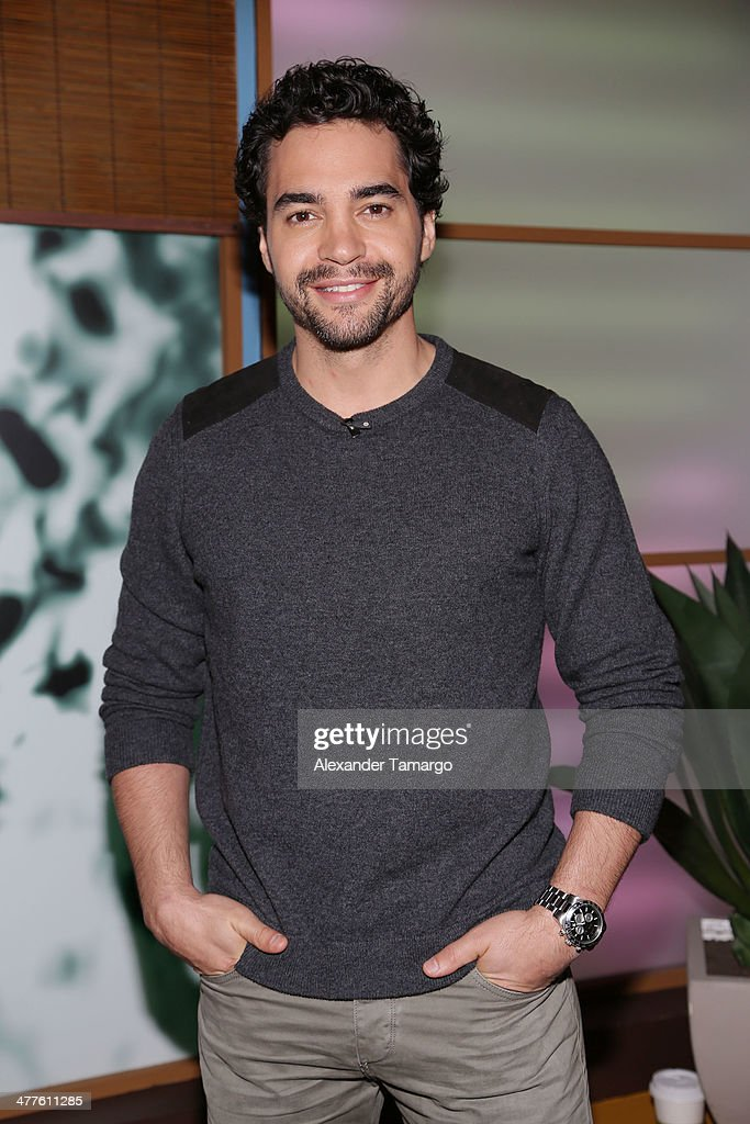 Ramon Rodriguez is seen on the set of Univision's Despierta America morning show to promote the movie 'Need for Speed' at Univision Headquarters on March 10, 2014 in Miami, Florida.