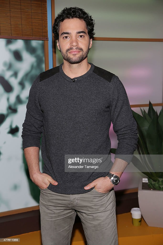 <a gi-track='captionPersonalityLinkClicked' href=/galleries/search?phrase=Ramon+Rodriguez&family=editorial&specificpeople=73608 ng-click='$event.stopPropagation()'>Ramon Rodriguez</a> is seen on the set of Univision's Despierta America morning show to promote the movie 'Need for Speed' at Univision Headquarters on March 10, 2014 in Miami, Florida.