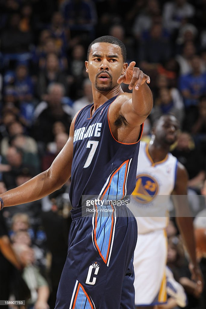 <a gi-track='captionPersonalityLinkClicked' href=/galleries/search?phrase=Ramon+Sessions&family=editorial&specificpeople=805440 ng-click='$event.stopPropagation()'>Ramon Sessions</a> #7 of the Charlotte Bobcats in a game against the Golden State Warriors on December 21, 2012 at Oracle Arena in Oakland, California.