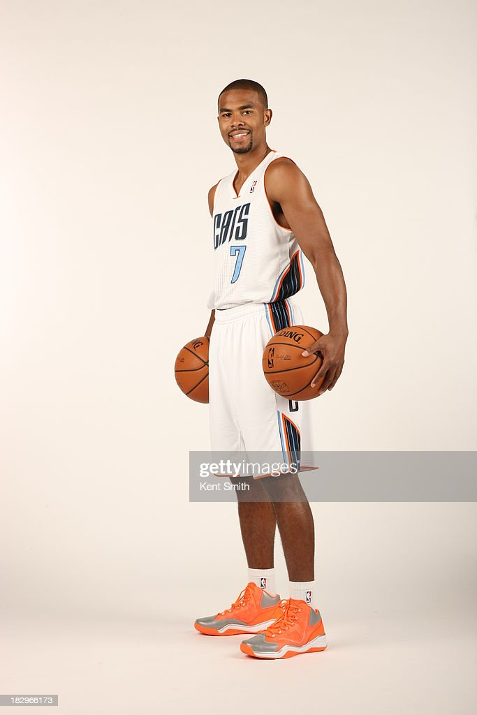 Ramon Sessions #7 of the Charlotte Bobcats poses for a portrait on media day at the Time Warner Cable Arena on September 30, 2013 in Charlotte, North Carolina.