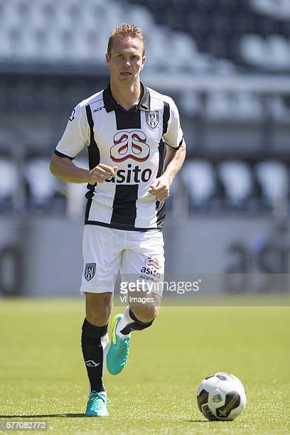 Ramon Zomer during the team presentation of Heracles on July 18 2016 at the Polman stadium in Almelo The Netherlands