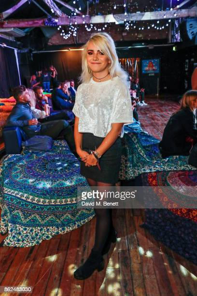 Ramona Marquez attends the 'Access All Areas' gala screening in aid of Teenage Cancer Trust at Proud Camden on October 17 2017 in London England