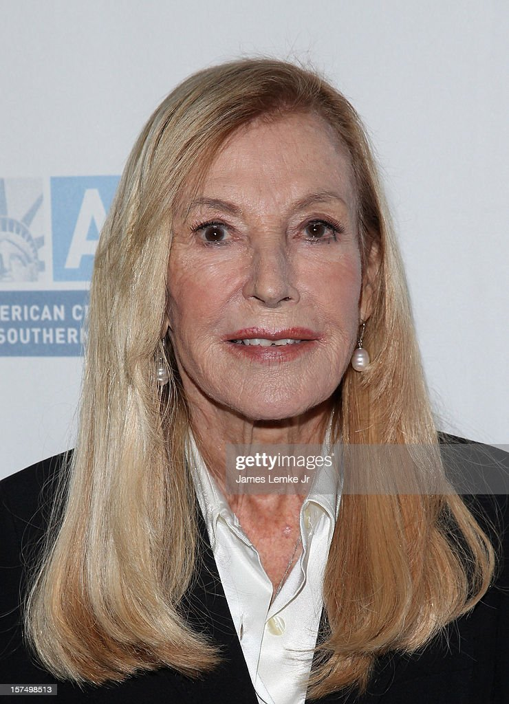 Ramona Ripston attends the ACLU of Southern California's 2012 Bill of Rights Dinner held at the Beverly Wilshire Four Seasons Hotel on December 3, 2012 in Beverly Hills, California.