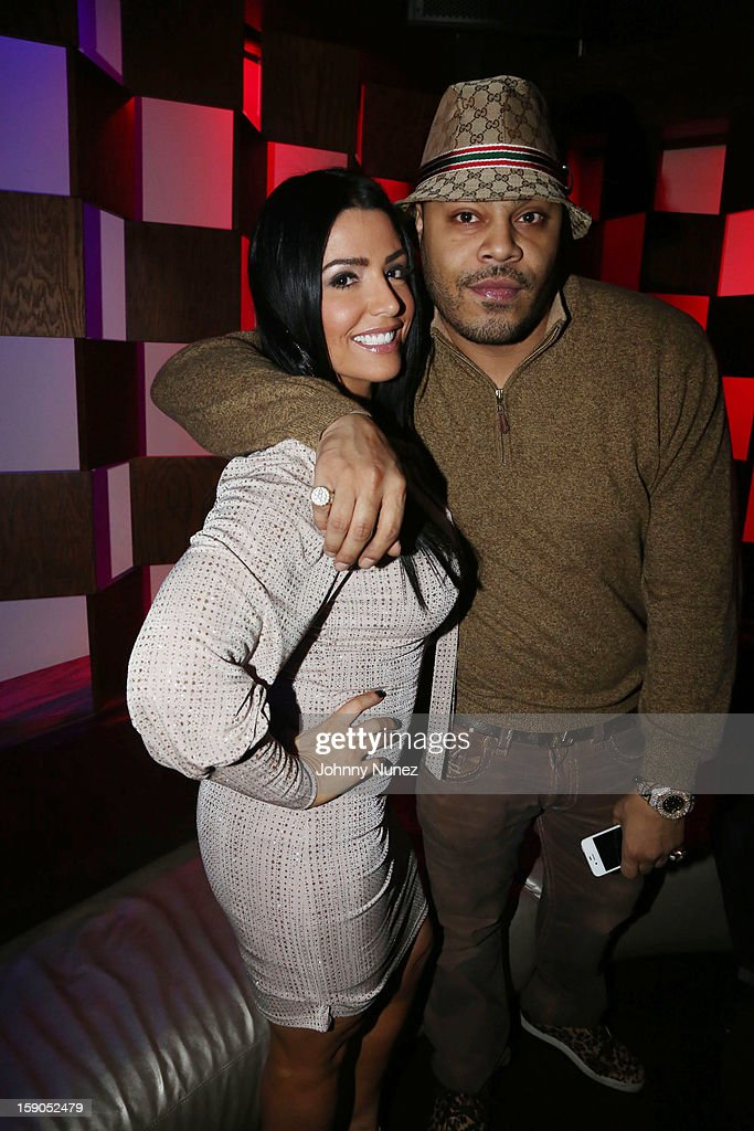 Ramona Rizzo and Storm attend VH1's 'Mobwives' Season 3 Premiere Viewing Party at Frames Bowling Lounge on January 6, 2013 in New York City.