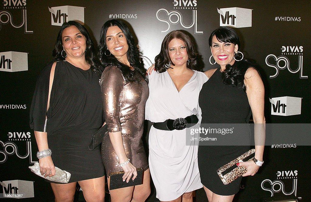 Ramona Rizzo (2nd L), Karen Gravano and Renee Graziano attends 2011 VH1 Divas Celebrates Soul at the Hammerstein Ballroom on December 18, 2011 in New York City.