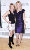 Ramona Singer and Alex McCord attend Teri Jon's Spring 2011 fashion show and charity luncheon at the Teri Jon Showroom on November 8 2010 in New York...