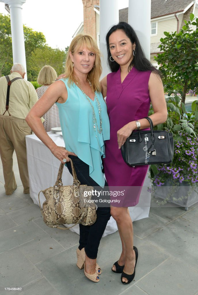 <a gi-track='captionPersonalityLinkClicked' href=/galleries/search?phrase=Ramona+Singer&family=editorial&specificpeople=4949817 ng-click='$event.stopPropagation()'>Ramona Singer</a> and Cassandra Seidenfeld attend the Hamptons Magazine Celebrates With Cover Stars, Jonathan Adler And Simon Doonan at Day Lily Estate on August 3, 2013 in Bridgehampton, New York.