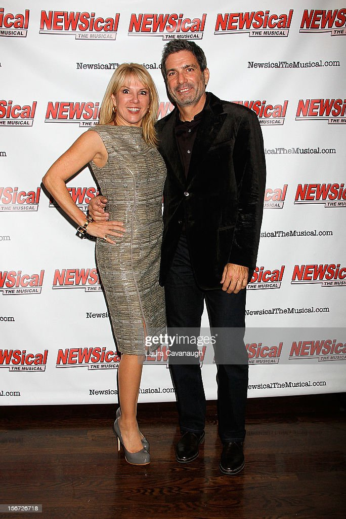 <a gi-track='captionPersonalityLinkClicked' href=/galleries/search?phrase=Ramona+Singer&family=editorial&specificpeople=4949817 ng-click='$event.stopPropagation()'>Ramona Singer</a> and Mario Singer attend opening night of Andrea McArdle in 'NEWSical The Musical'at The Kirk Theater at Theatre Row on November 19, 2012 in New York City.