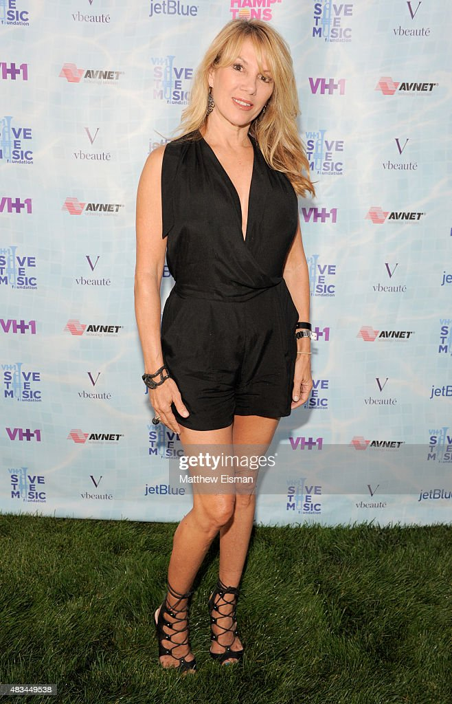 Ramona Singer at VH1 Save The Music Foundation's 'Hamptons Live' benefit hosted by Billy and Julie Macklowe at a private estate in Sagaponack, NY on August 8, 2015.