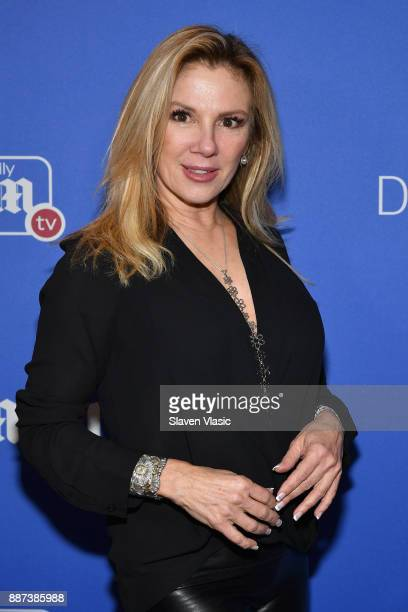 Ramona Singer attends DailyMailcom DailyMailTV Holiday Party with Flo Rida on December 6 2017 at The Magic Hour in New York City