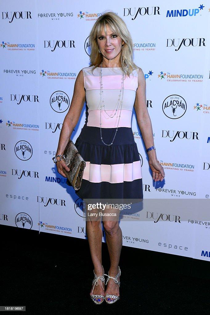 DuJour's Jason Binn Along With Kurt Russell Celebrate Goldie Hawn And The Hawn Foundation