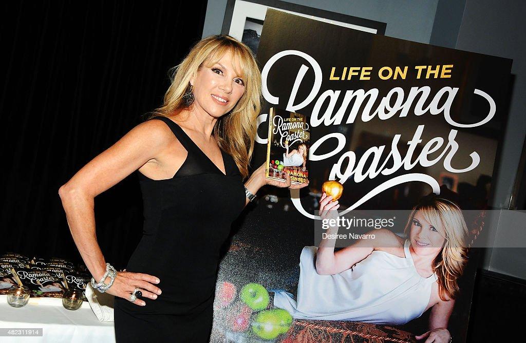 "Ramona Singer's ""Life on the Ramona Coaster"" Book Launch Event"