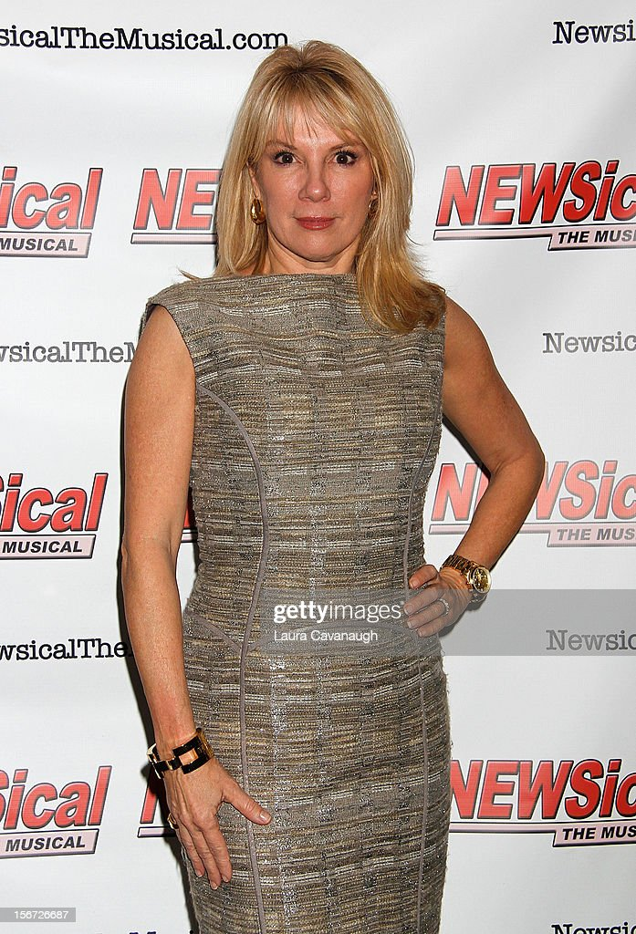Ramona Singer attends opening night of Andrea McArdle in 'NEWSical The Musical'at The Kirk Theater at Theatre Row on November 19 2012 in New York City