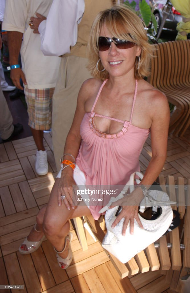 Ramona Singer attends the closing day of the MercedesBenz Polo Challenge at Blue Star Jets Field at Two Trees Farm on August 22 2009 in Bridgehampton...