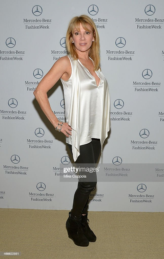 Ramona Singer attends the MercedesBenz Star Lounge during MercedesBenz Fashion Week Fall 2014 at Lincoln Center on February 11 2014 in New York City