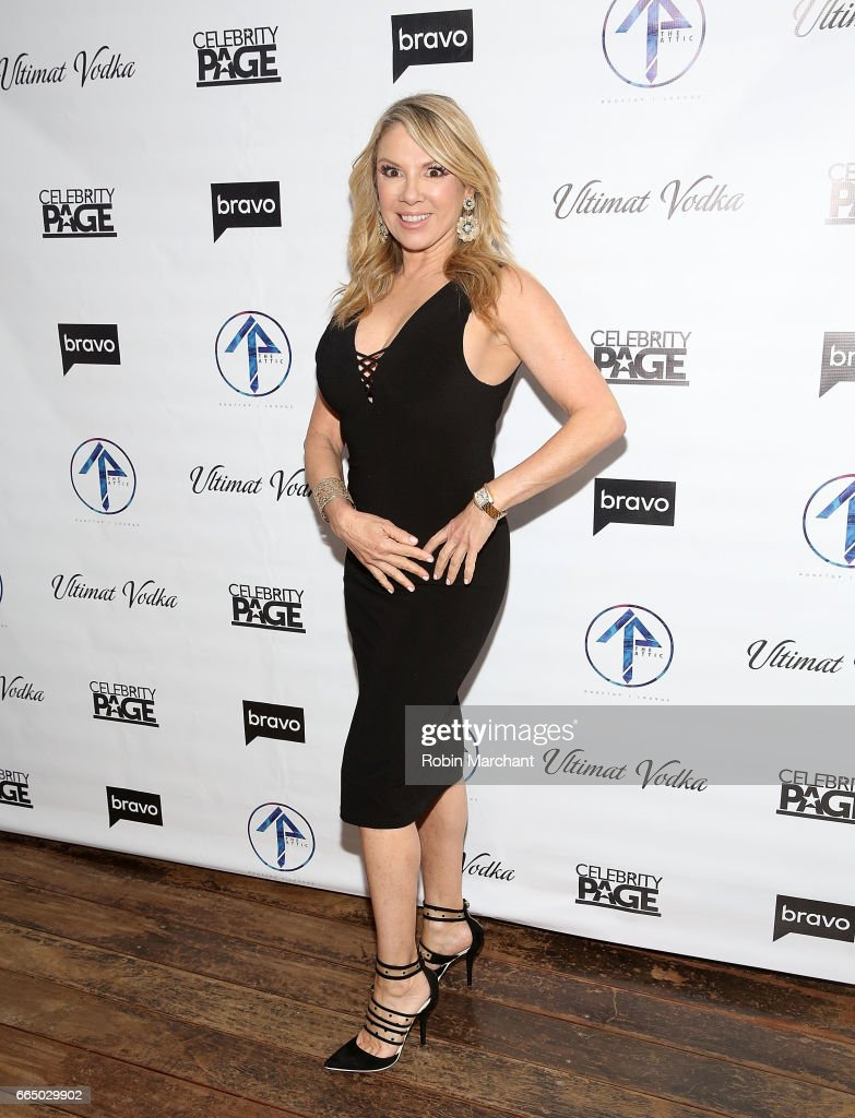 Ramona Singer attends 'The Real Housewives Of New York City' Season 9 Premiere Party at The Attic Rooftop Lounge on April 5, 2017 in New York City.