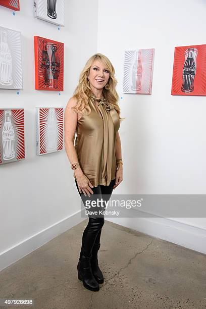 Ramona Singer attends the Sheila Rosenblum Resident Magazine Cover Party at Soho Contemporary Art Gallery on November 19 2015 in New York City