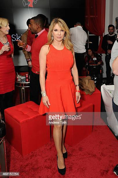 Ramona Singer attends the Skinnygirl Cocktails Launch Party at 620 Loft Garden on February 10 2015 in New York City