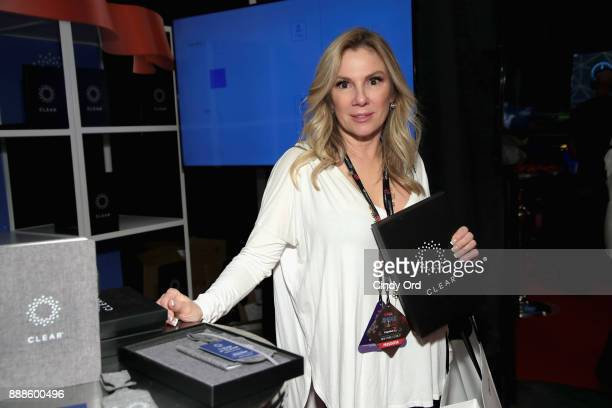 Ramona Singer attends the Z100's Jingle Ball 2017 GIFTING LOUNGE on December 8 2017 in New York City