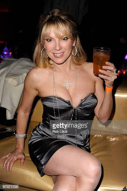 Ramona Singer attends ThreeO Vodka's Rangtang launch party at Quo Nightclub on February 23 2010 in New York City