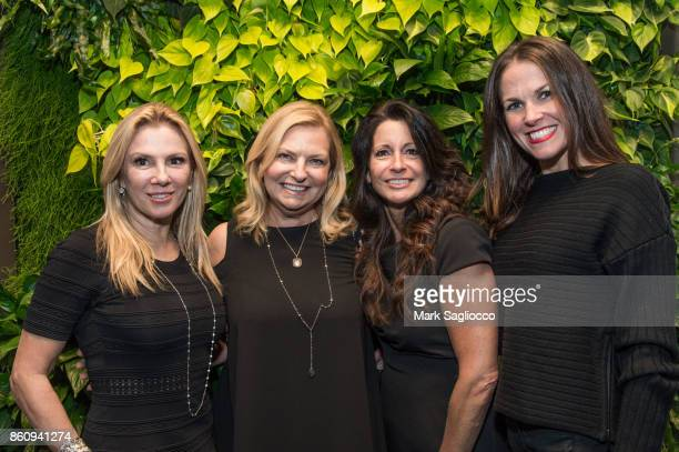 Ramona Singer Debra Halpert Terry Villani and Kelly O'Connor attend the Alfa Development Launch Celebration on October 12 2017 in New York City