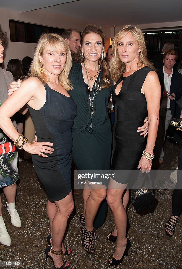RHONY Ramona Singer Heather Thomson and Sonja Morgan and atend the The Kellner Family Pediatric Liver Foundation Benefit at Karen Karch Boutique on...