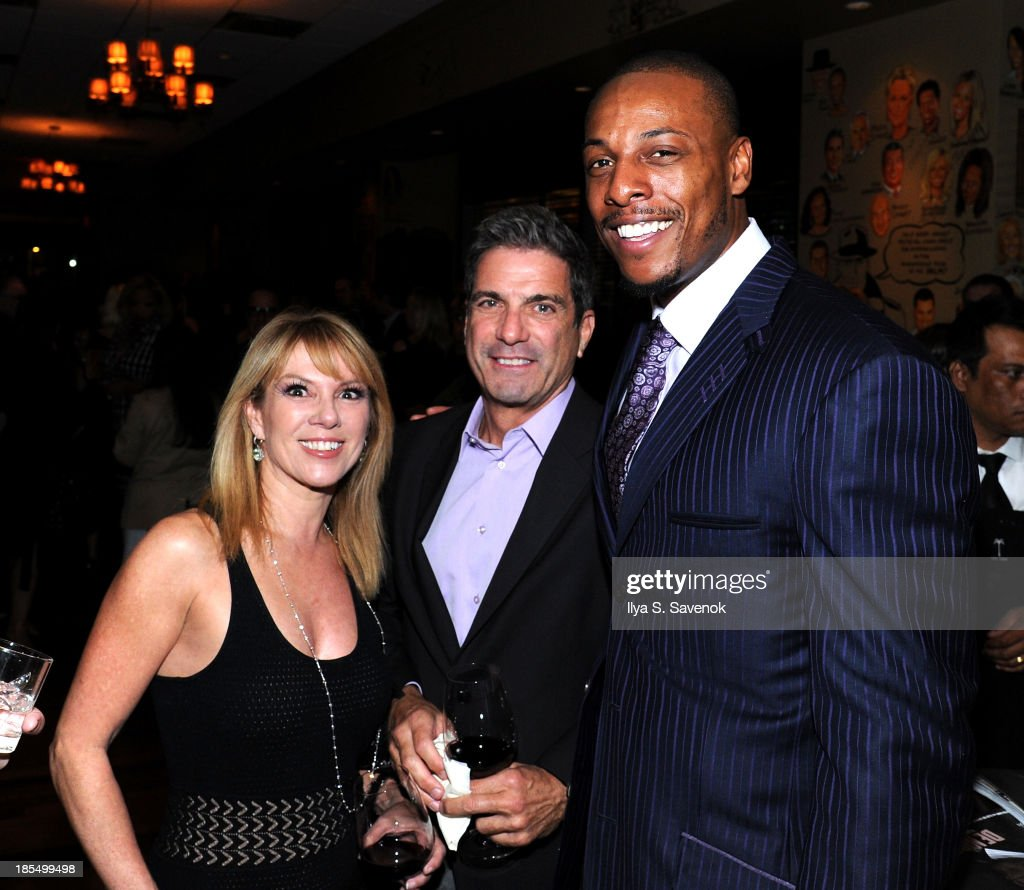 Ramona Singer Mario Singer and NBA player Paul Pierce attend DuJour's Jason Binn's welcoming NY Nets Star Paul Pierce To NYC event on October 21 2013...