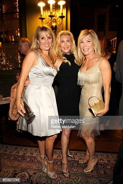 Ramona Singer Michelle Walker and Regina Kravitz attend ROBERT LYSTER CASSANDRA SEIDENFELD LYSTER'S FETE D' AMOUR at The New York Tennis Racquet Club...