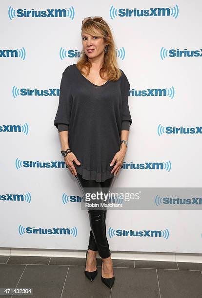 Ramona Singer visits at SiriusXM Studios on April 28 2015 in New York City