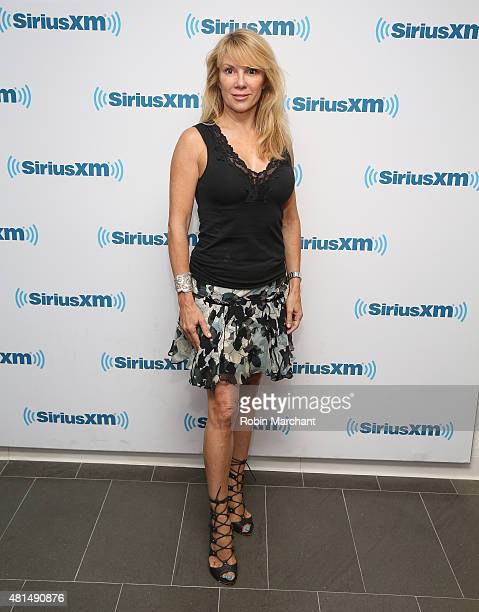 Ramona Singer visits at SiriusXM Studios on July 21 2015 in New York City