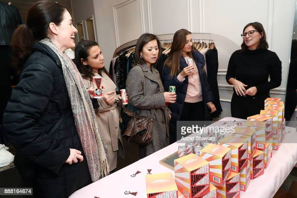 Ramona wine is served during 'Vintage For A Cause' benefitting She Should Run held at Rebecca Taylor on December 7 2017 in New York City