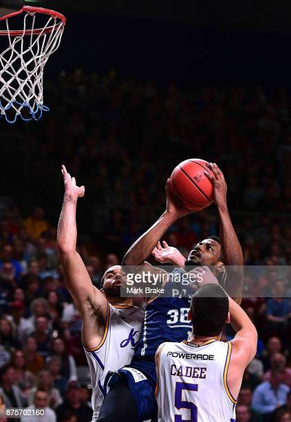 Ramone Moore of the Adelaide 36ers during the round seven NBL match between Adelaide 36ers and the Sydney Kings at Titanium Security Arena on...