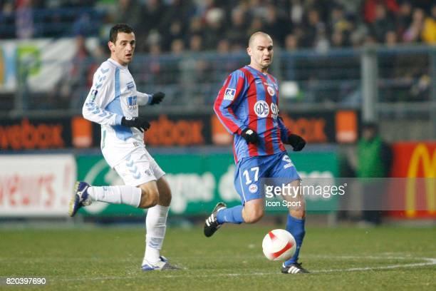 Ramos RODRIGO / Benjamin NIVET Caen / Strasbourg 19eme journee de Ligue 1