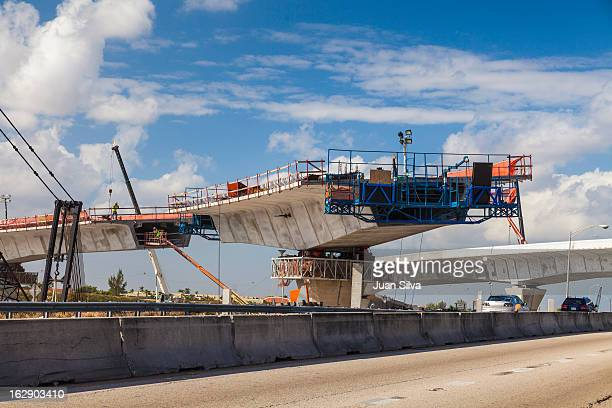 Ramp construction on State Road 826 and 836, MIami