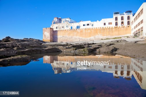 Rampart Reflection, Essaouira, Morocco