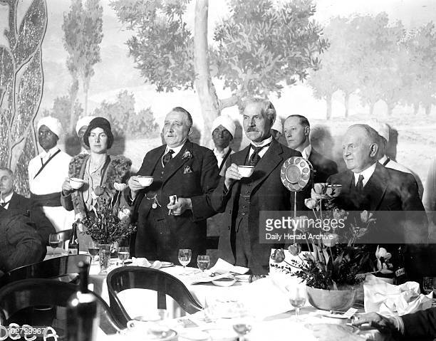 Ramsay MacDonald London 22 April 1931 James Ramsay MacDonald attending the Corporate Wholesale Society luncheon in the Connaught Rooms He was a...
