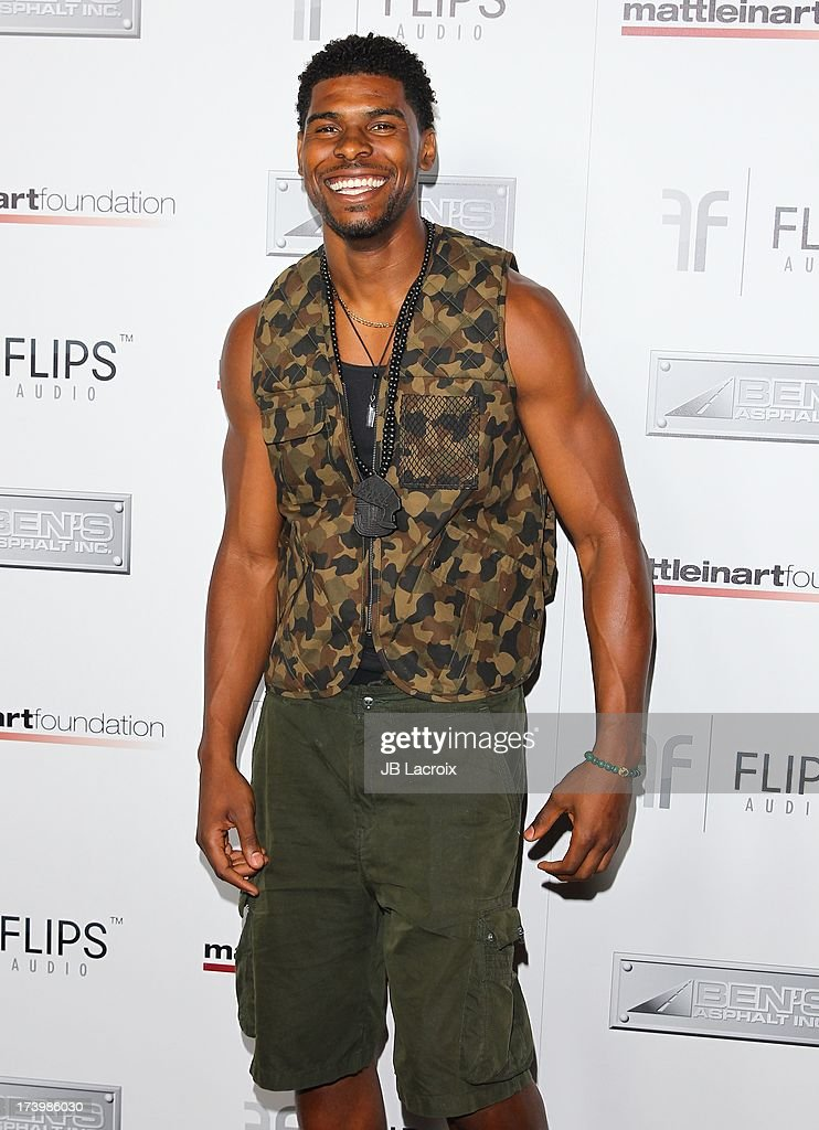 Ramses Barden attends the Matt Leinart Foundation's 7th Annual 'Celebrity Bowl' at Lucky Strikes on July 18, 2013 in Hollywood, California.