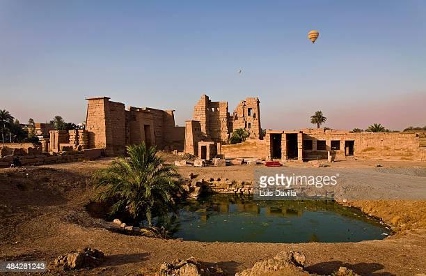 ramses III temple in habu. luxor