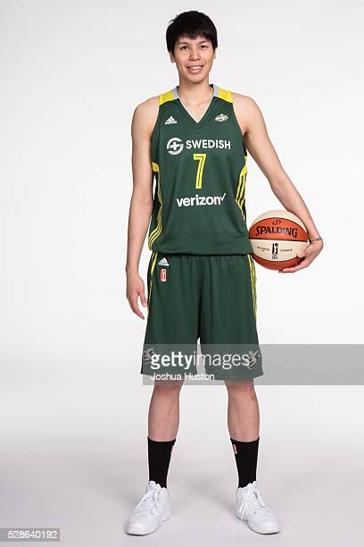 Ramu Tokashiki of the Seattle Storm poses for a photo during media day at Key Arena in Seattle Washington May 05 2016 NOTE TO USER User expressly...