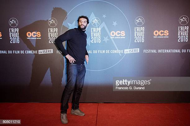Ramzy Bedia attends the 18th L'Alpe D'Huez International Comedy Film Festival on January 14 2016 in Alpe d'Huez France