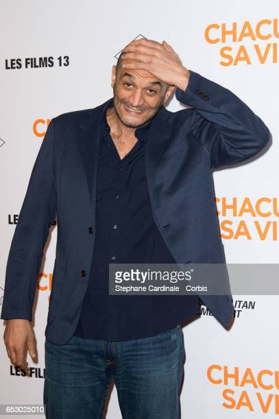 Ramzy Bedia attends the 'Chacun Sa vie' Paris Premiere at Cinema UGC Normandie on March 13 2017 in Paris France