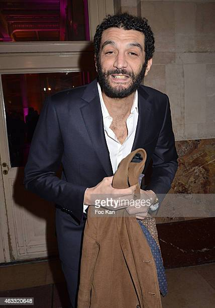 Ramzy Bedia attends the 'Trophees Du Film Francais' 22nd Ceremony At Palais Brongniart on February 12 2015 in Paris France